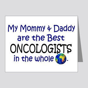 Best Oncologists In The World Note Cards (Pk of 20