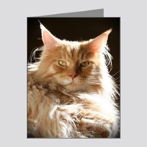 leo-onblack Note Cards (Pk of 20)