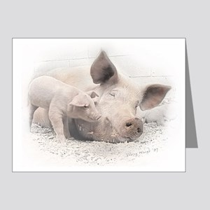 Pig Happy Note Cards (Pk of 20)