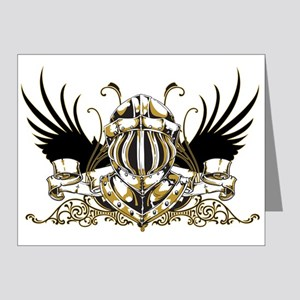 Golden Knight Note Cards (Pk of 20)