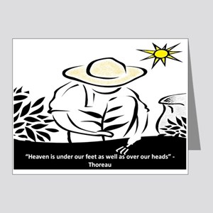 Heaven - Thoreau Note Cards (Pk of 20)
