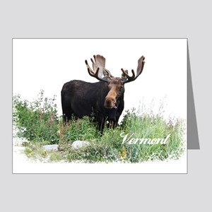 Vermont Moose Note Cards (Pk of 20)