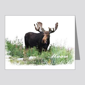 Maine Moose Note Cards (Pk of 20)