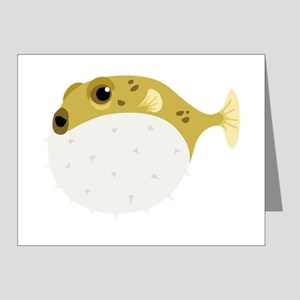 Blow Fish Note Cards