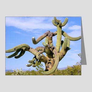 Tucson Saguaro Monster Note Cards (Pk of 20)