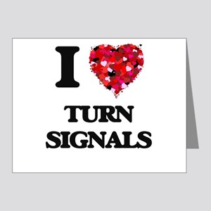 I love Turn Signals Note Cards