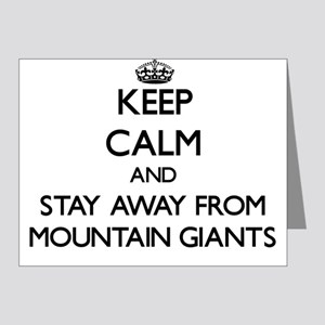Keep calm and stay away from Mountain Giants Note