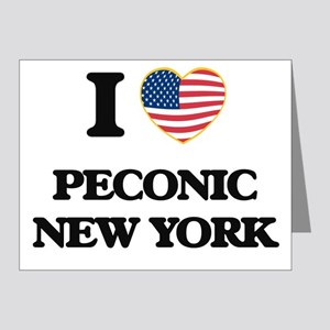 I love Peconic New York Note Cards