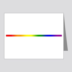 PRIDE STRIPE Note Cards (Pk of 20)