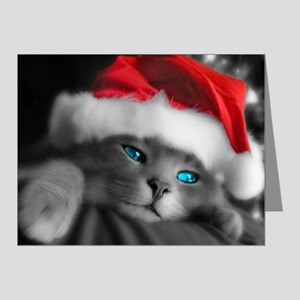 Christmas Cat Note Cards (Pk of 20)