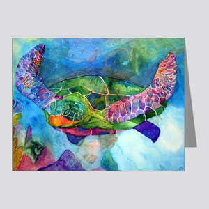 Sea Turtle Note Cards (Pk of 20)