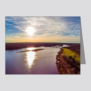 Peconic River Note Cards