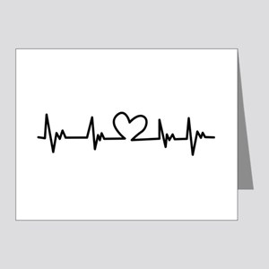 Heart Beat Note Cards