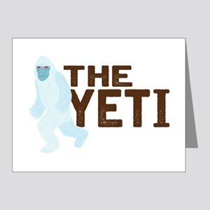 The Yeti Note Cards