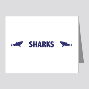 Sharks Note Cards