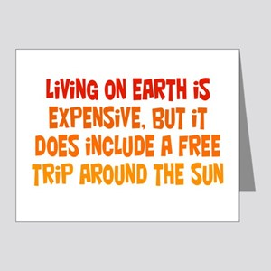 Free Trip Around the Sun Note Cards (Pk of 20)