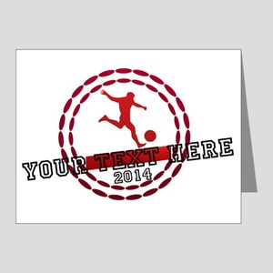 Personalized Sport Tag Note Cards (Pk of 20)
