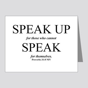 REESPEAKUP Note Cards (Pk of 20)