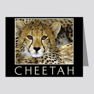 Cheetah Note Cards