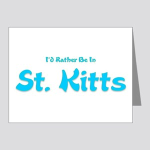 Id Rather Be...St. Kitts Note Cards (Pk of 20)