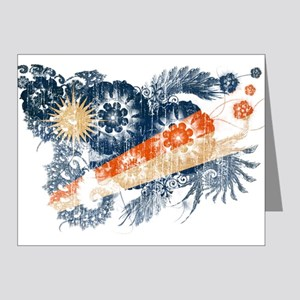 Marshall Islands Flag Note Cards (Pk of 20)