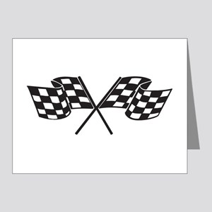 Checkered Flag, Race, Racing, Motorsports Note Car
