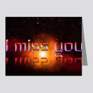 I Miss You Note Cards (Pk of 20)