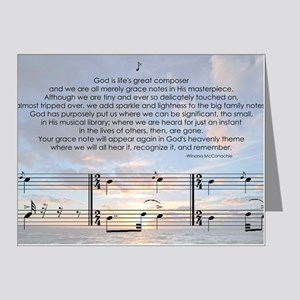 Grace Note l4x10 copy Note Cards (Pk of 20)