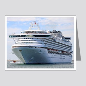 Cruise ship 13 Note Cards (Pk of 20)