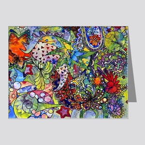 cool Paisley Note Cards (Pk of 20)