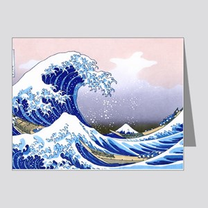 LAPTOP -Gr8 Wave-Hokusai Note Cards (Pk of 20)