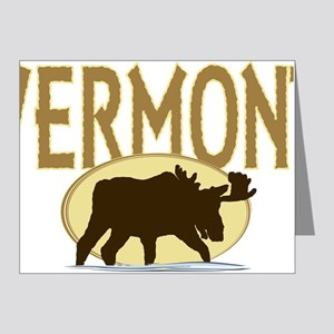 VTMoose Note Cards (Pk of 20)