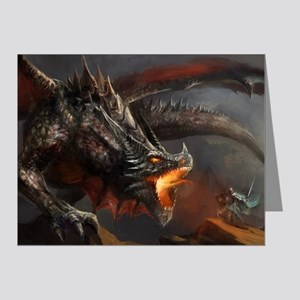 Dragon and Knight Note Cards (Pk of 20)