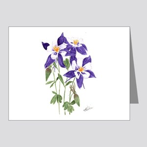 Blue Columbine Note Cards (Pk of 20)