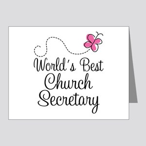 Church Secretary Gift Note Cards (Pk of 20)