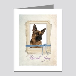 German Shepherd Thank You Cards (Pk of 10) Note Ca
