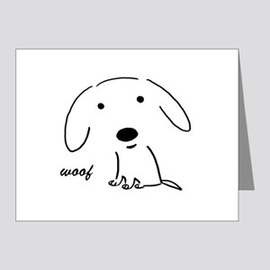 Little Woof Note Cards (Pk of 20)