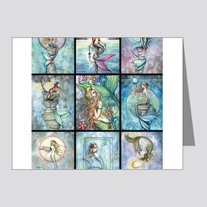 Molly Harrison Mermaids Fantasy Art Note Cards
