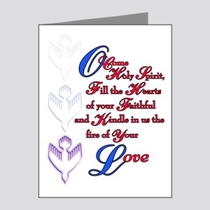 O Come Holy Spirit Note Cards (Pk of 20)