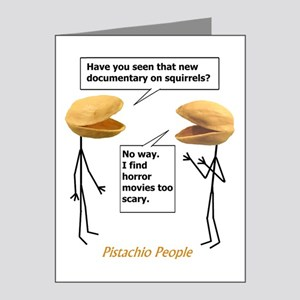 Pistachio Nut Horror Note Cards (Pk of 20)