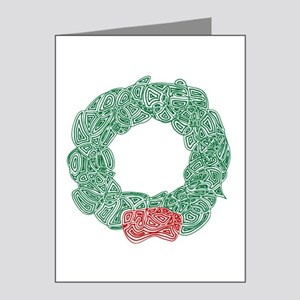 Christmas Wreath Note Cards (Pk of 20)