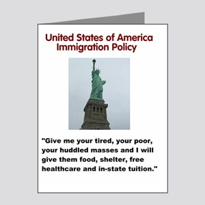 5000x6000_IMMIGRATION POLICY Note Cards (Pk of 20)