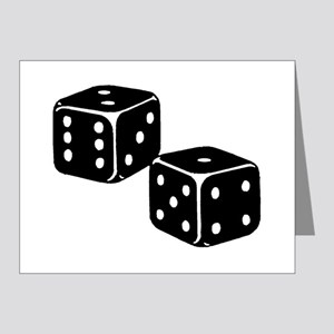 Vintage Dice Icon Note Cards (Pk of 20)