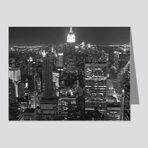 New York City at Night. Note Cards (Pk of 20)