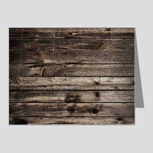 f1784d5d272411 rustic primitive grey barn w Note Cards (Pk of 20)