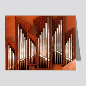 Pipe Organ Greeting Cards - CafePress