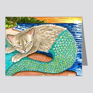 Cat Mermaid 23 Note Cards (Pk of 20)