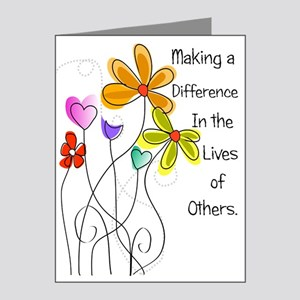 Caregiver Note Cards