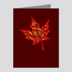 Fire Leaf Note Cards (Pk of 20)