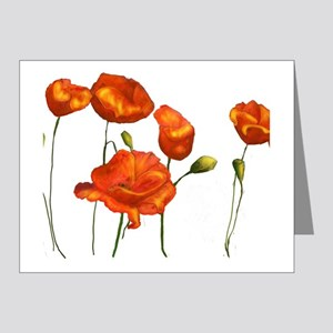 Poppies Note Cards (Pk of 20)